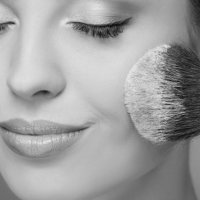 makeup services - black and white